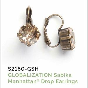 Sabika Globalization Manhattan Drop Earrings